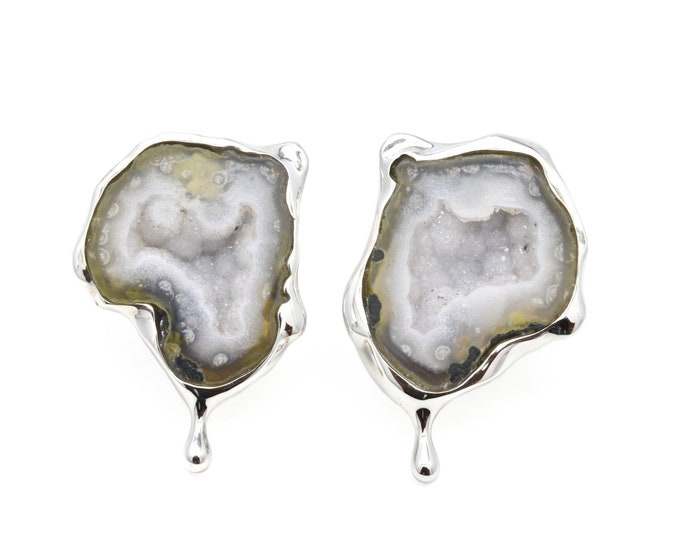 Glacier Tear earrings