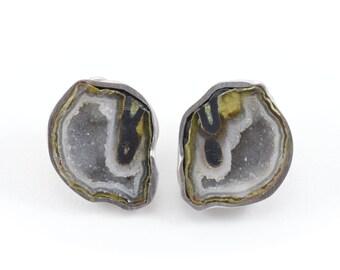 Chrysalis Green earrings