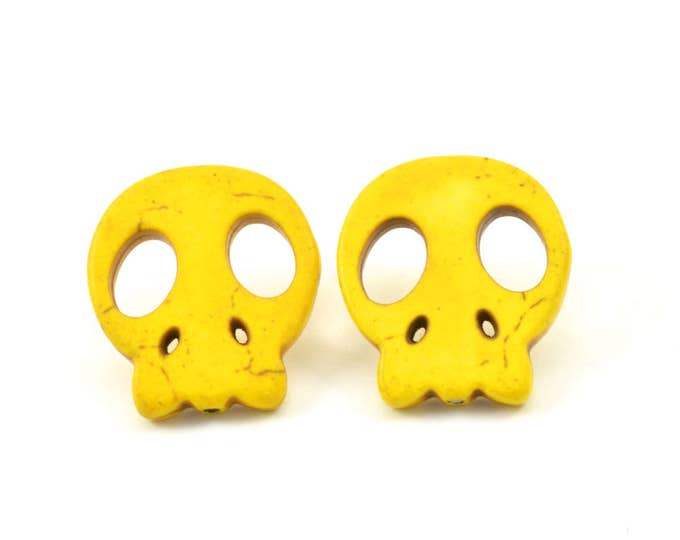 Candy Skull studs