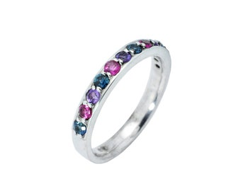 Mauve Spectrum ring