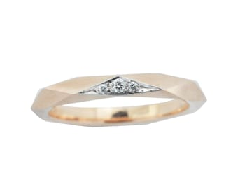 Rose Facet ring