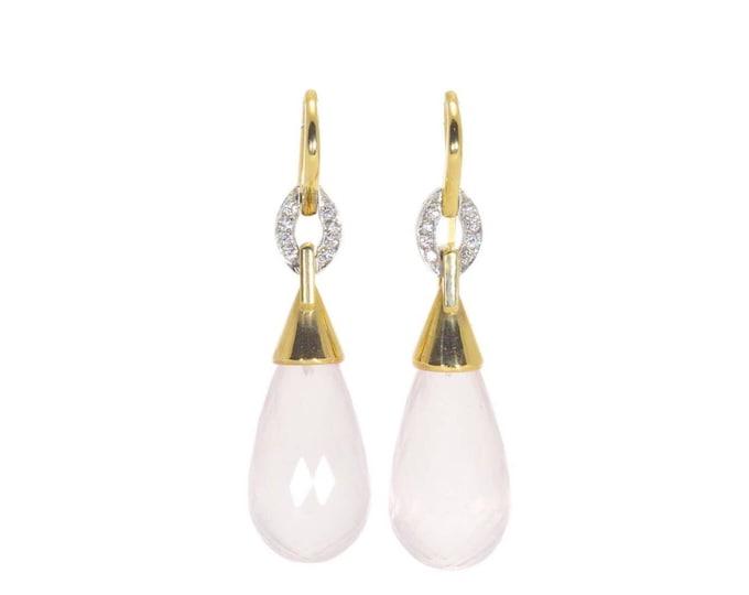 Rose Goddess earrings