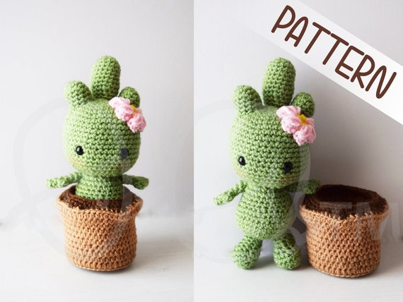 Crochet Cactus Patterns Best Ideas Video Instructions | Crochet ... | 428x570