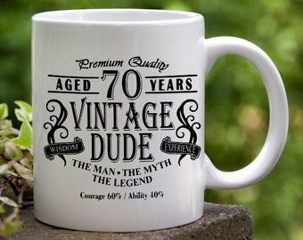 Funny Coffee Mug Personalized Change to any age you want Birthday Gift Autumn Mug Fall Decor mug Christmas