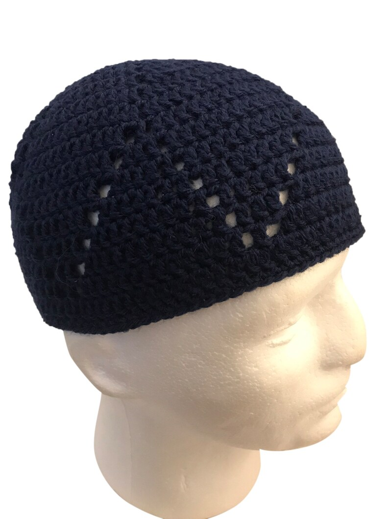 7063f321c04a8 Crochet Kufi Crochet Kufee Crochet Beanie Knitted Kufi