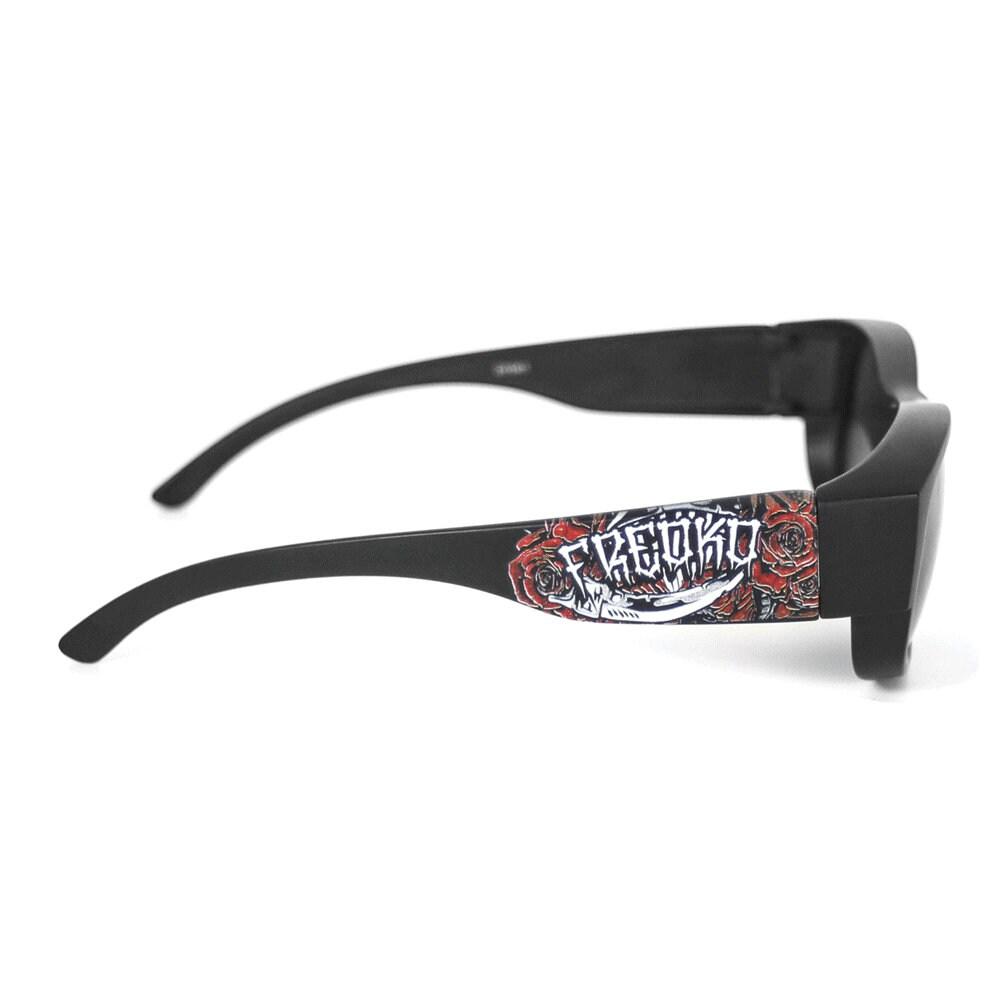 Las gafas de sol Reaper y Roses Black Color Streetwear Old