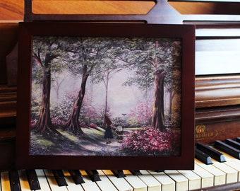 "Over the Garden Wall - 8""x10"" Print - Modified Thrift Store Art"