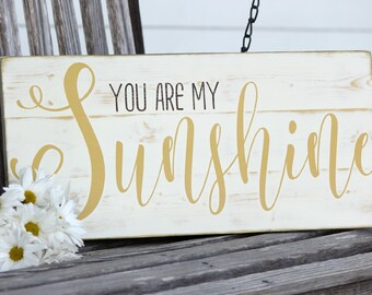 You Are My Sunshine Wall Art | Etsy