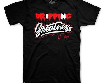 4baff9e45fde Jordan 14 Candy Cane Drip Greatness Tee Shirt