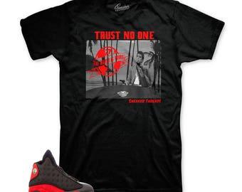 Shirt Match Jordan 13 Bred Shoes Retro 13 Rage Tee