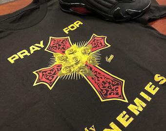 5ae6c64ab17a Jordan 14 Last Shot Pray Tee Shirt