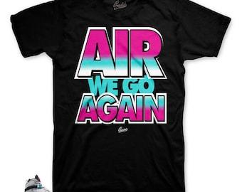 b379a81046b3 Jordan 8 South Beach Turbo Green Air We Go Shirt