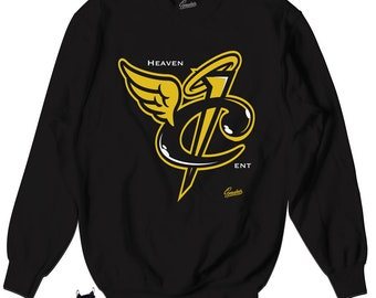 new style 4b646 300de Foamposite Metallic Gold Heaven Cent Tee Shirt