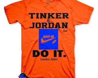 745ab487b1cacf Jordan 10 Tinker Huarache Light Shirt Match Shoes - Sneaker Addict Tee