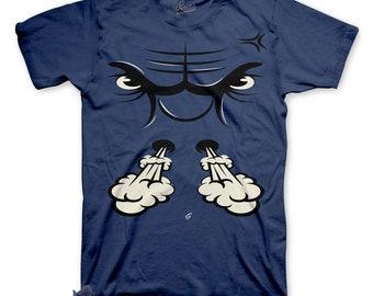8adf5b36b3db39 Shirt Match Jordan 6 Diffused Blue - Bullface Tee