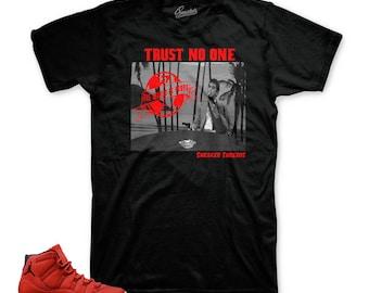 4fe184e2301dbf Jordan 11 Win Like 96 Gym Red Trust Tony Shirt