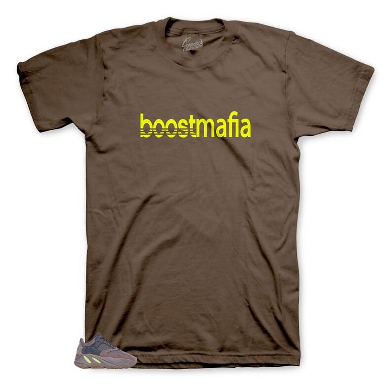 Shirt Match Yeezy 700 Mauve Boost Boostmafia Tee