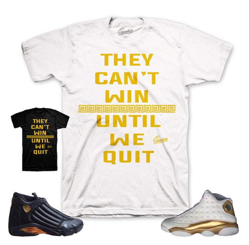 online store 7fa36 1593a Jordan DMP 13   14 Win Shirt   Etsy