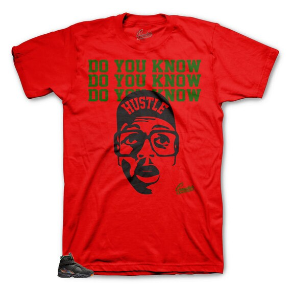 34a6df2bd96 Tee Shirt Match Jordan 8 Air Raid Tinker Do You Know Shirt | Etsy