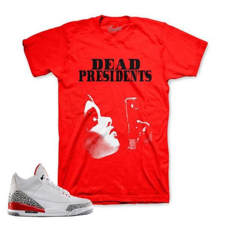 Shirt Match Jordan 2 Melo Retro 2 Dead Pres Shirt
