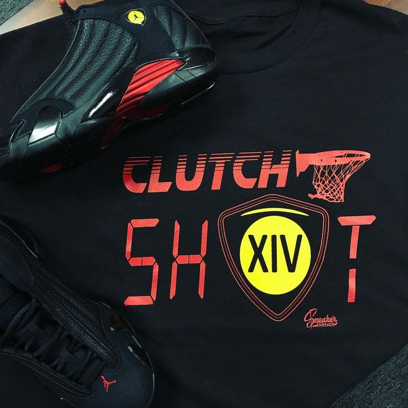 06c2a70666d6 Jordan 14 Last Shot Clutch Tee Shirt