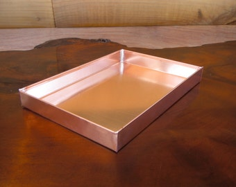 Solid Copper Tray