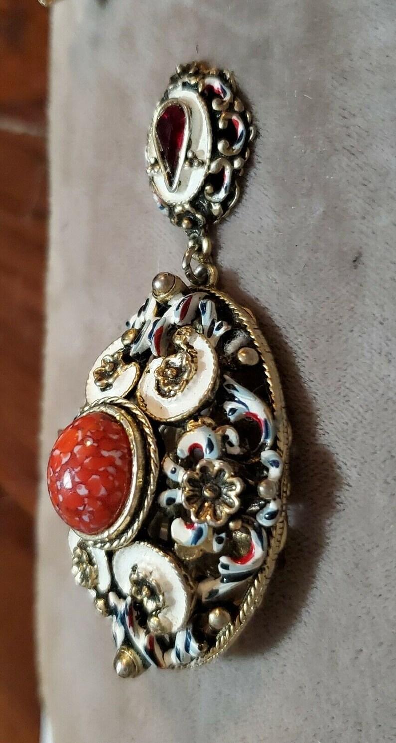 are Elizabeth Reimer Arcansas  Arkansas DEMI PARURE 4Pc SET Necklace Bracelet Pin Earrings