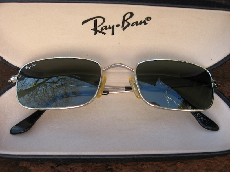 c88c448b777 Ray Ban Sunglasses with original hard shell case. Vintage