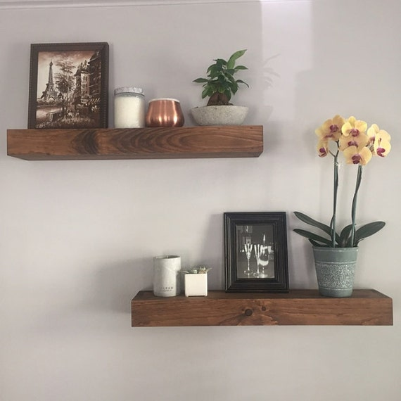Floating Shelves Shelves Bathroom Shelf Kitchen Shelf | Etsy