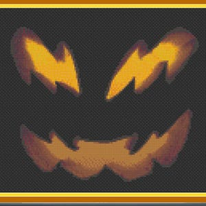 Grim Reaper Dark Lord/'s Glowing Gaze Counted Cross Stitch Pattern Deathly Skull Face Scary Cloaked Skull Halloween Evil Face