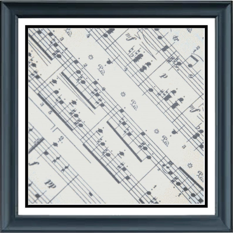 Sheet of Music Musical Score Page of Music Notations image 0