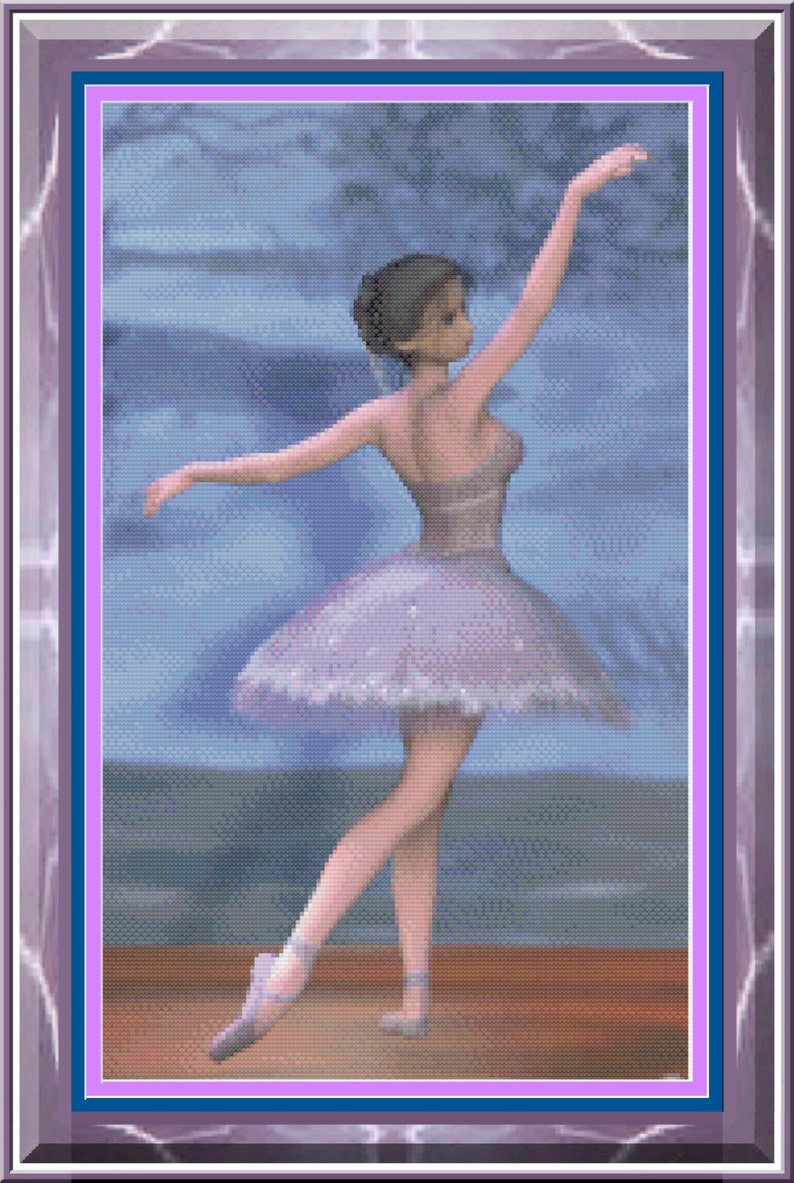 Sugar Plum Fairy Ballerina Elegant Ballerina Purple image 0