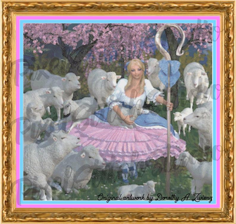 Little Bo Peep Has Found Her Sheep Children's Nursery image 0