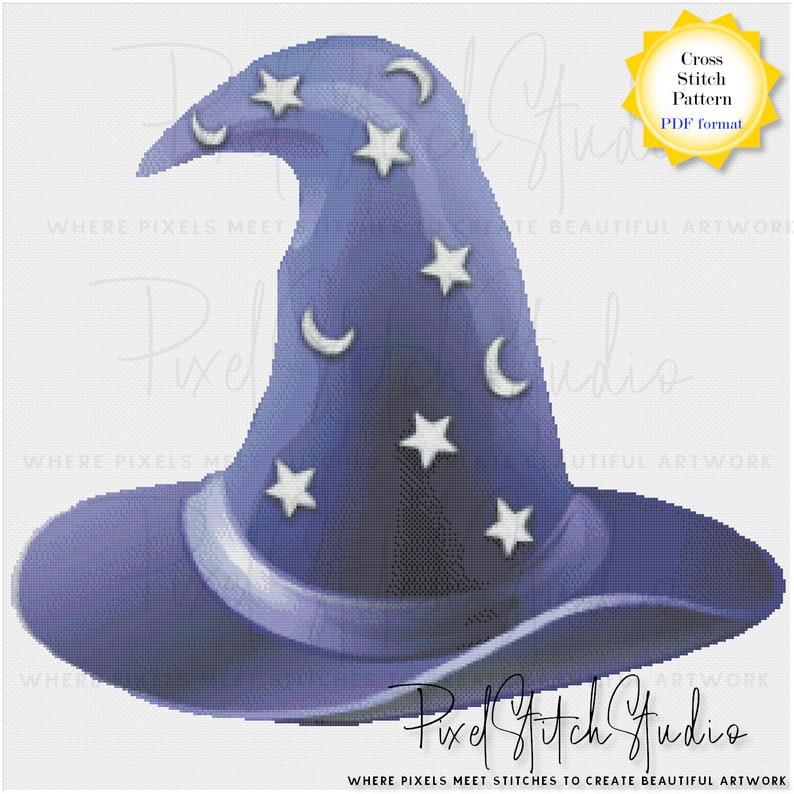 Magical Wizard's Hat Mystical Sorcerer's Hat image 0