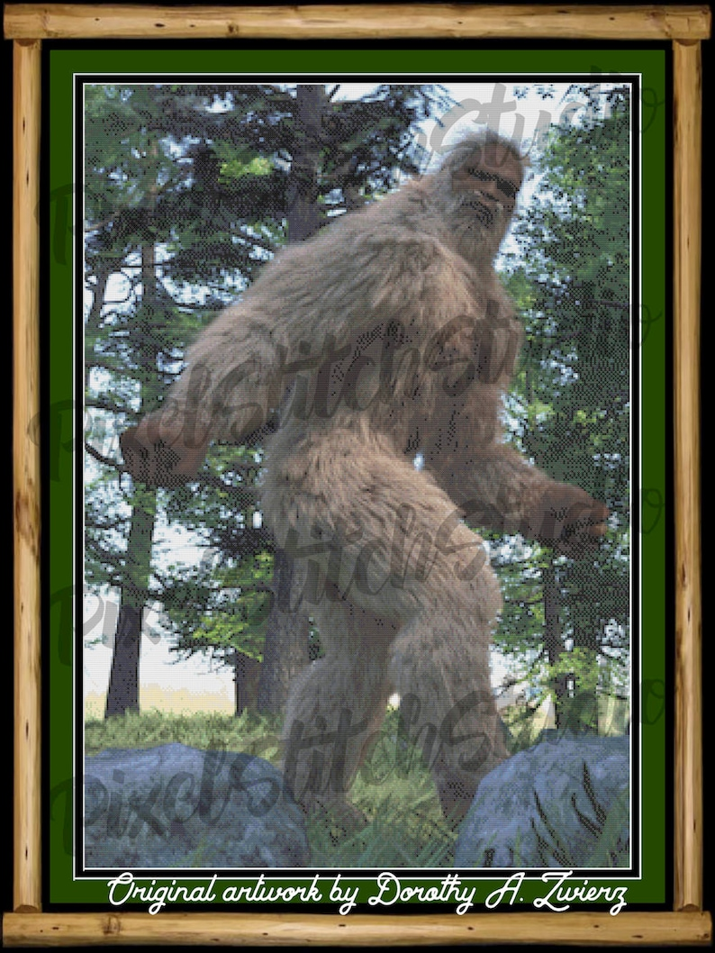Elusive Bigfoot Legendary Sasquatch Mysterious Yeti image 0