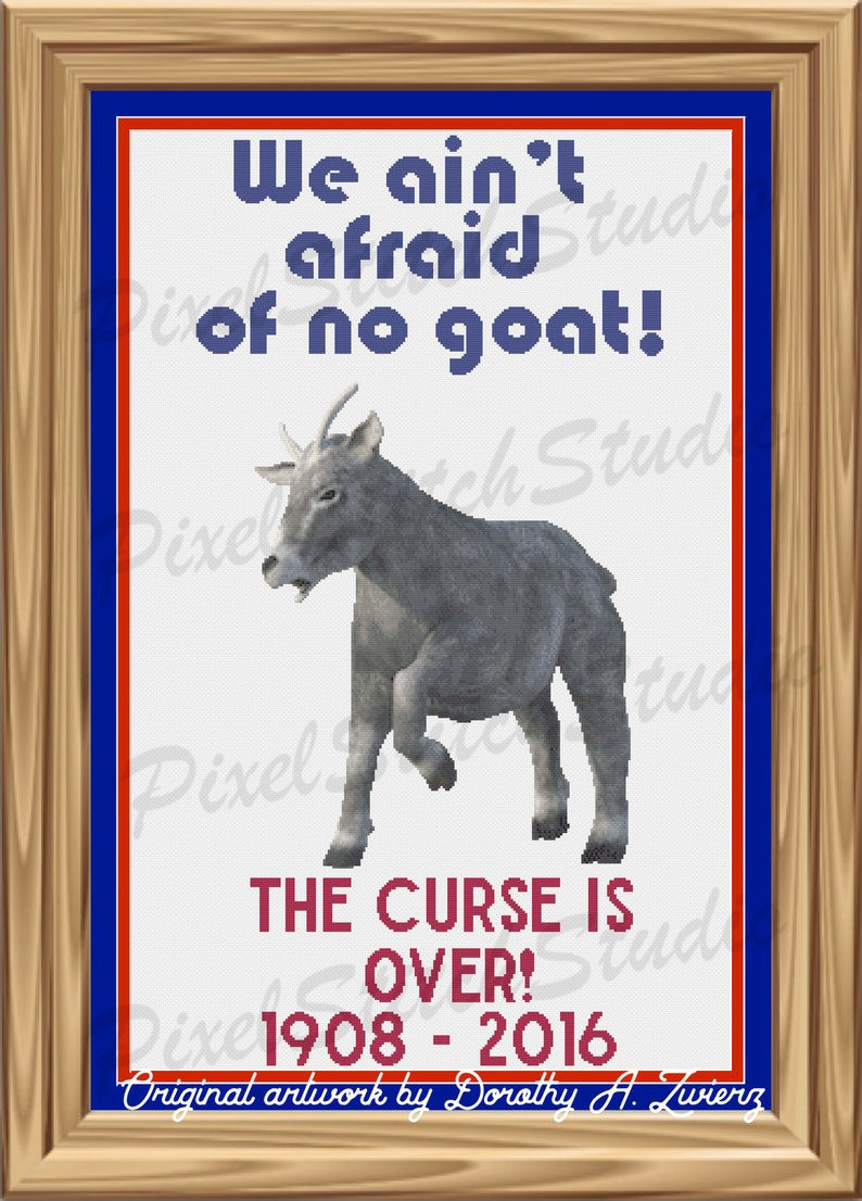 We Ain't Afraid of No Goat The Curse Is Over Greatest image 0