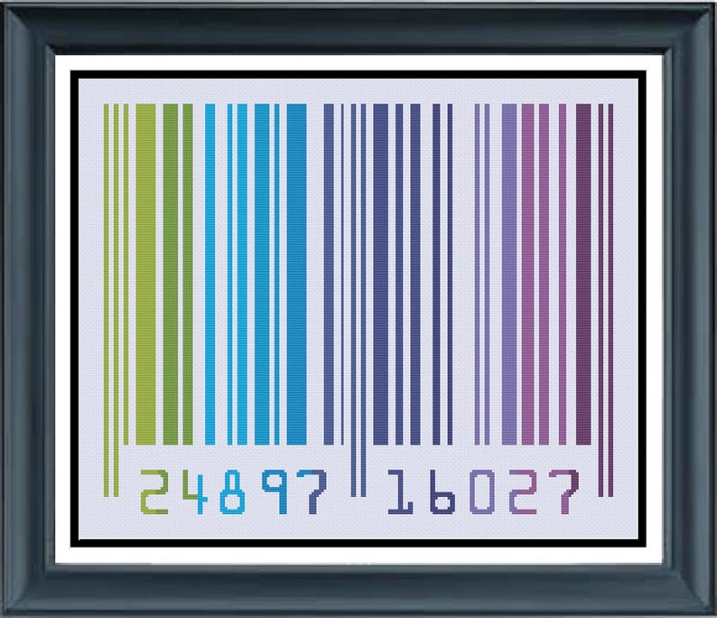 Colorful Barcode 2 Cool Colored Generic Scan Bar Cheerfully image 0