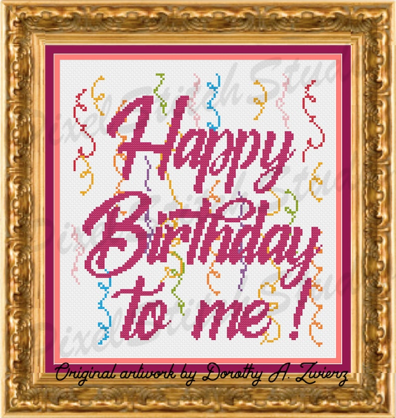 Happy Birthday to me Colorful Celebration Time to Party image 0