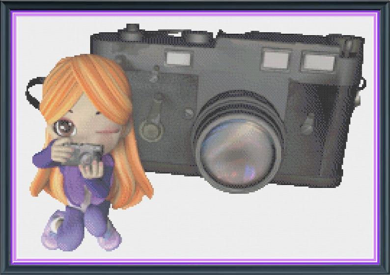 Girl Photographer Female Camera Enthusiast Artistic image 1