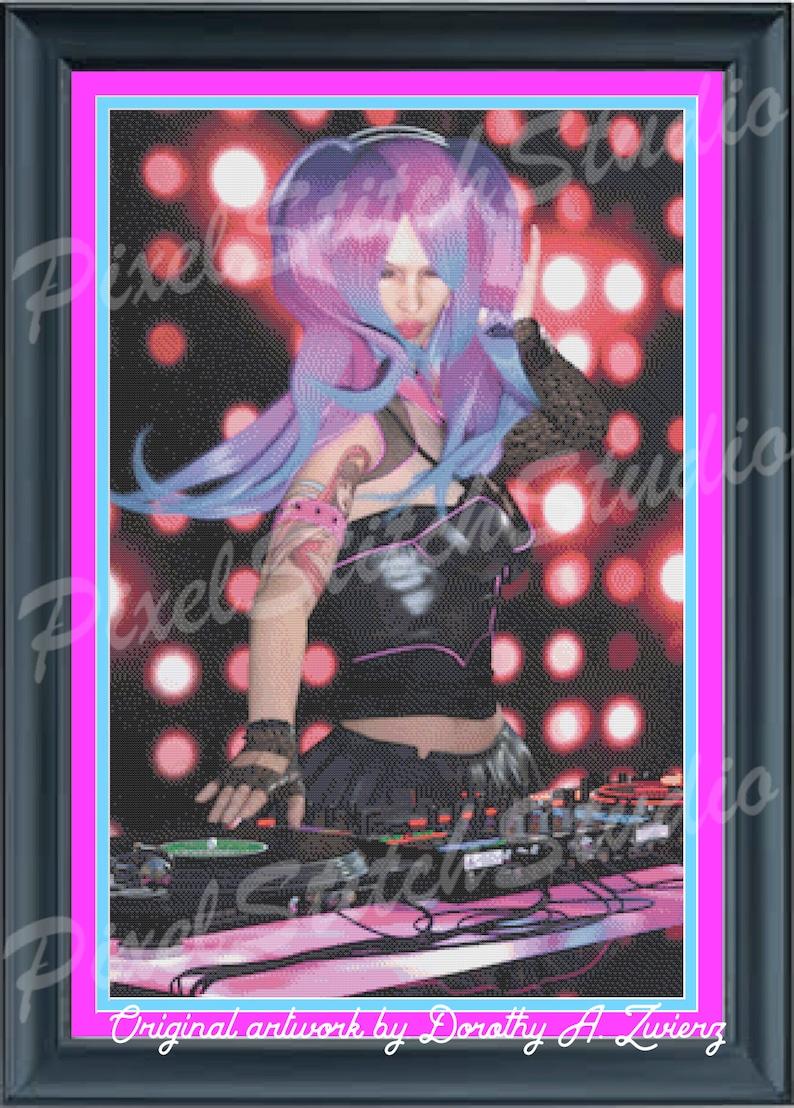 DJ Girl Play It Like A Girl Female Disc Jockey D.J. Rocker image 0