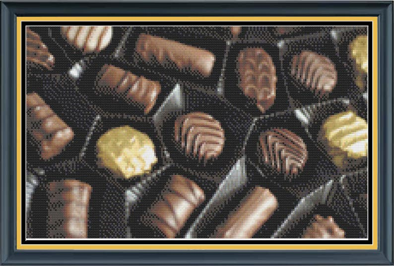 Box of Chocolates Box of Chocolate Covered Bon Bons Sweet image 0