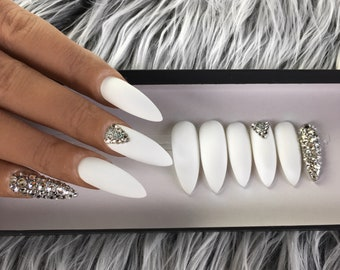 Fake Nails Etsy
