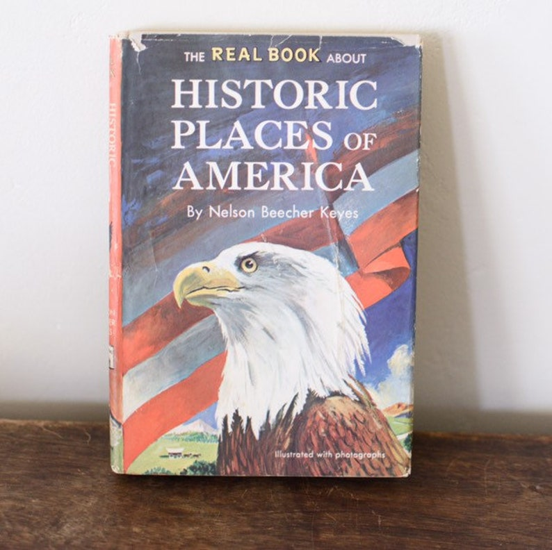 The Real Book about Historic Places of America by Nelson image 0