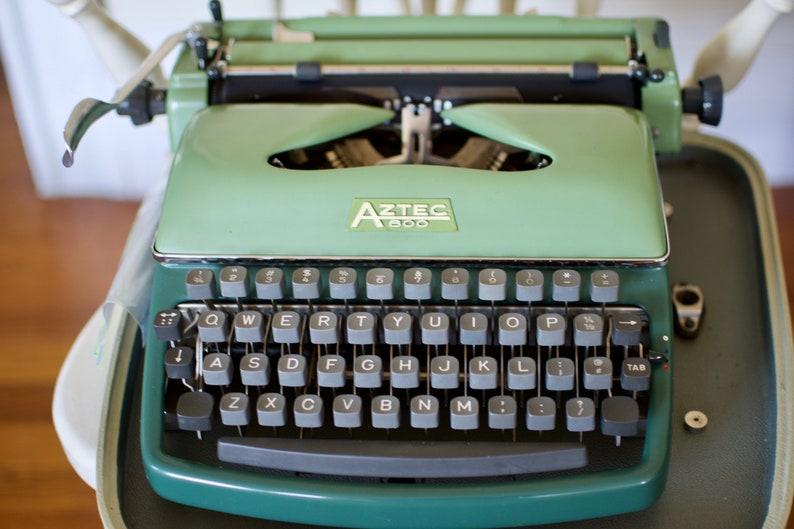 Rheimentall Aztec 600 Typewriter Rare Vintage Typewriter image 0