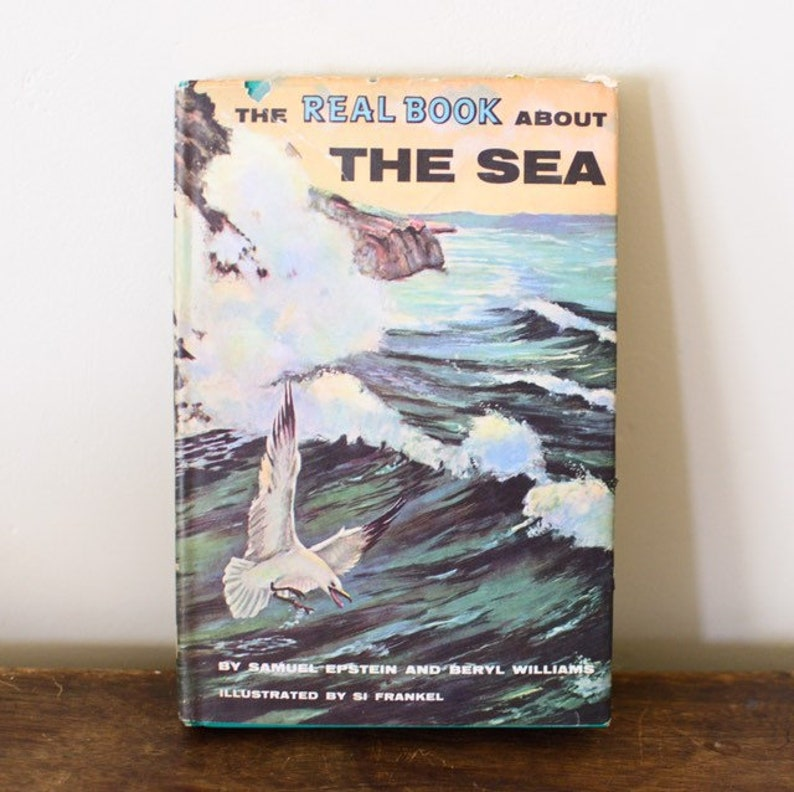 The Real Book about The Sea by Samuel Epstein & Beryl Williams image 0