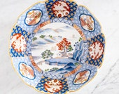 Japanese Imari Floral Bowl by Otagiri Mercantile Company OMC