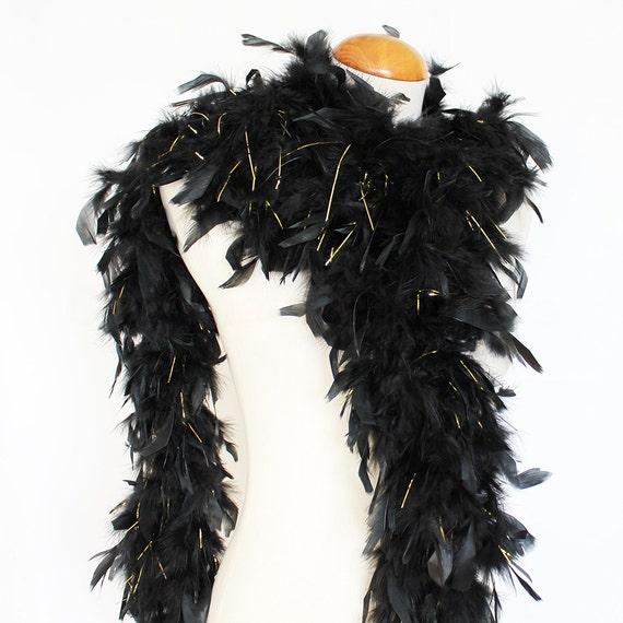 IRISH w//SILVER TINSEL Feather Boas Chandelle 6 Feet 60 gram Lowest Price on