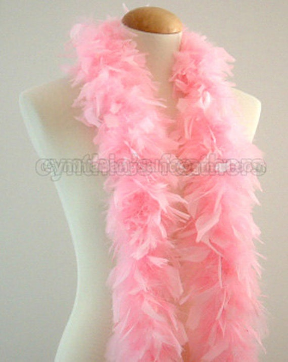 Baby Pink 45 Grams Chandelle Feather Boa 52 Inches Long Etsy