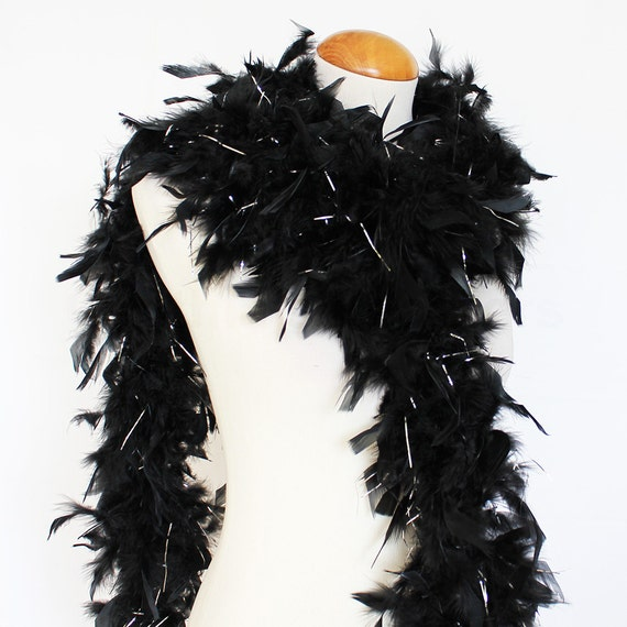 65 Gram CHANDELLE FEATHER BOA BROWN 2 Yards Boas Party//Costume//Shawl//Craft