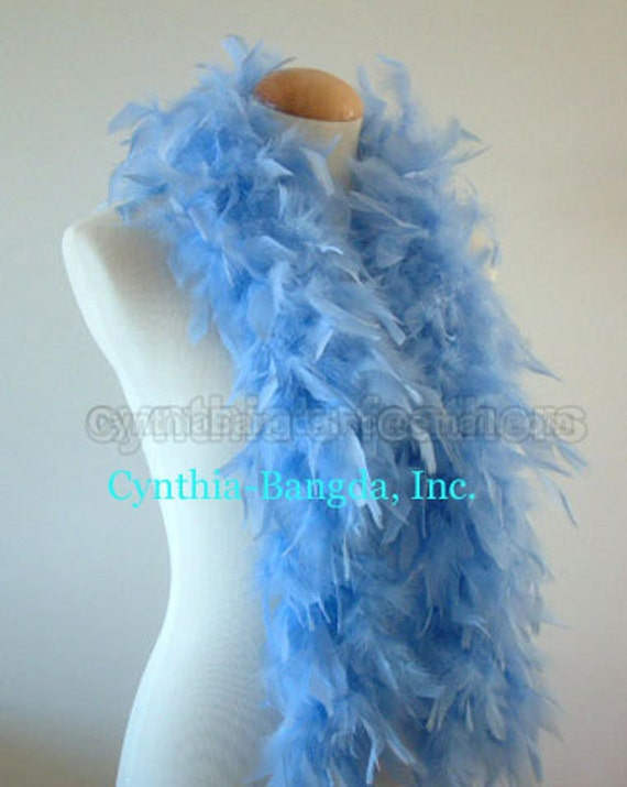 Turquoise 45 Grams Chandelle Feather Boa Dance Party Halloween Costume